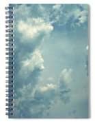 Storm Clouds - 3 Spiral Notebook
