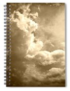 Storm Clouds - 5 Spiral Notebook