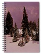 Storm Clouds Over The Monte Cristo Summit Spiral Notebook