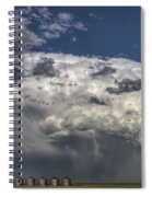 Storm Clouds Thunderhead Spiral Notebook