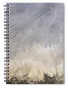 Storm In Life Spiral Notebook