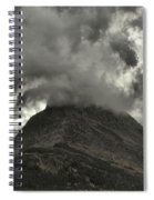 Storm Over Grinnell Spiral Notebook