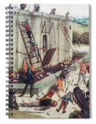 Storming Of Castle Spiral Notebook