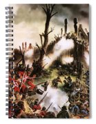 Storming Of Maori Fort  Spiral Notebook