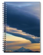Storms Over Shasta Spiral Notebook