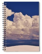 Storms Over The Mountains Spiral Notebook