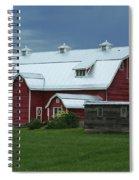 Stormy Barnyard Spiral Notebook