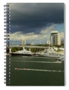 Stormy Fort Lauderdale Spiral Notebook