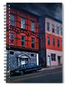 Stormy Monday Spiral Notebook