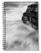 Stormy Sea 1 Spiral Notebook