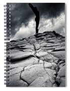 Stormy Silhouette Spiral Notebook