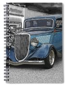 Stormy Skies Classic Spiral Notebook