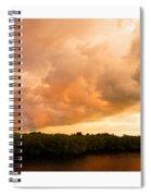 Stormy Sundowner Spiral Notebook