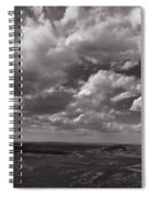 Stormy Wyoming Sky Spiral Notebook