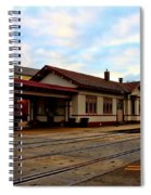 Stoughton Depot Spiral Notebook