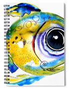 Stout Lookout Fish Spiral Notebook