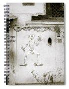 The Surreal Skeleton  Spiral Notebook