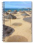 Straw Sunshades Spiral Notebook