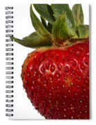 Strawberry Close Up No.0011 Spiral Notebook