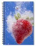 Strawberry Soda Dunk 1 Spiral Notebook