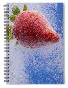 Strawberry Soda Dunk 2 Spiral Notebook
