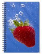 Strawberry Soda Dunk 3 Spiral Notebook