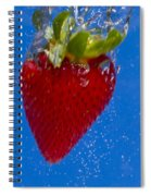 Strawberry Soda Dunk 7 Spiral Notebook