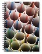 Straws 2 Spiral Notebook