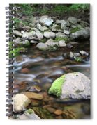 Stream In Nova Scotia Spiral Notebook