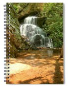 Stream To The Falls Spiral Notebook