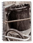 Street Cleaning Kit Spiral Notebook