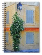 Street Corner In Provence Spiral Notebook