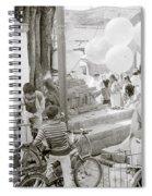 Street Life In Kathmandu Spiral Notebook