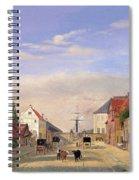 Street Scene Spiral Notebook