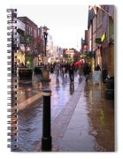 Street Scene Outside Windsor Castle Spiral Notebook