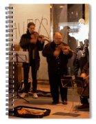 Street String Quartet Spiral Notebook