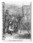 Street Telescope Spiral Notebook