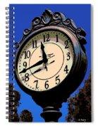Street Time Spiral Notebook