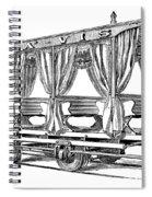 Streetcar, C1880 Spiral Notebook