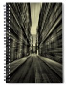 Streets Of Madness Spiral Notebook