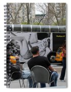 Streets Of New York 5 Spiral Notebook