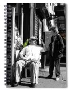 Streets Of New York 8 Spiral Notebook