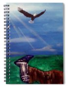 Strenght And Flight Spiral Notebook