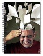 Stressed Spiral Notebook
