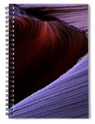Striations Spiral Notebook