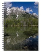 String Lake Panorama Spiral Notebook