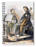 String Quartet, 1846 Spiral Notebook