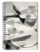 Stringed Instrument On Table Spiral Notebook