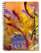 Strokes Of Love Spiral Notebook