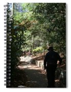 Stroll In The Shadows Spiral Notebook